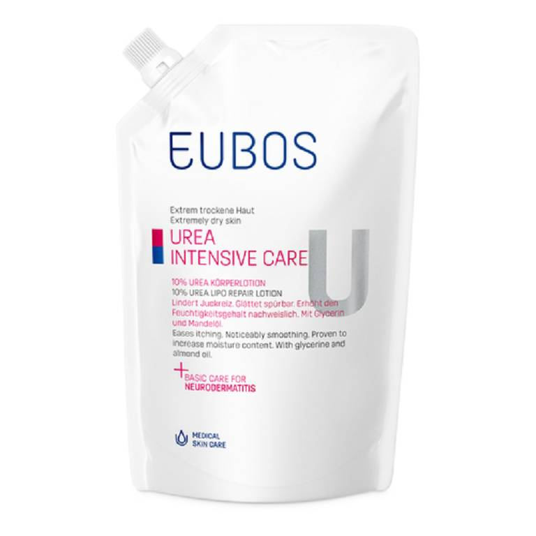 EUBOS UREA 10% EMU/LOZ CO400ML