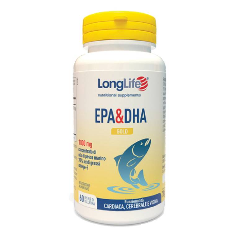 LONGLIFE EPA DHA GOLD 60PRL